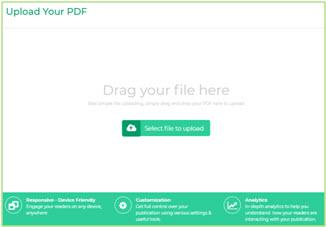 Upload Print ready PDF